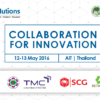 13 May 2016 – Collaboration for Innovation