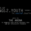 Upcoming event: Humans Of Change #2. YOUTH in Social Business.