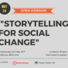 OPEN WEBINAR: Storytelling for Social Change