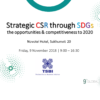 Special Talk on CSR through SDGs – 9 November 2018