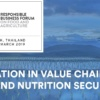 INNOVATION IN VALUE CHAINS FOR FOOD AND NUTRITION SECURITY: 26-27 March 2019