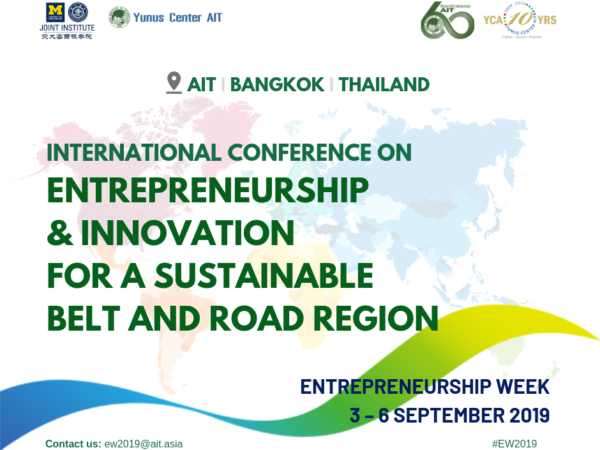 Entrepreneurship & Innovation for a Sustainable Belt and Road Region